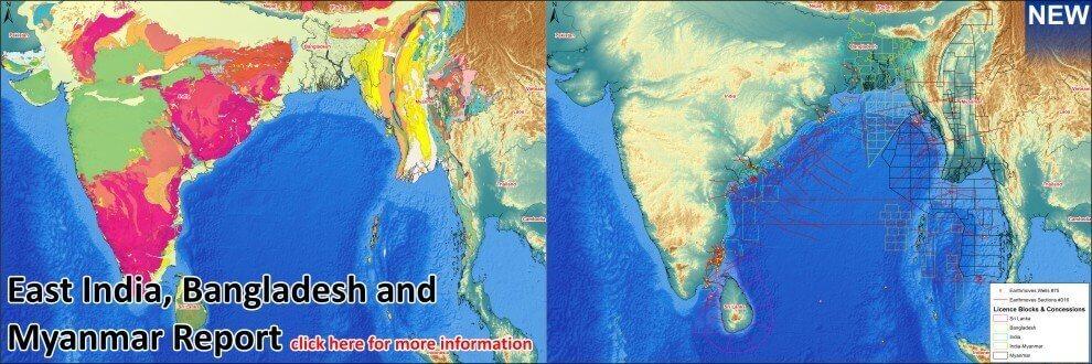 East India Myanmar Bangladesh
